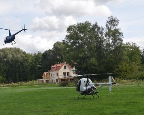 Helicopter Ride La Cascade