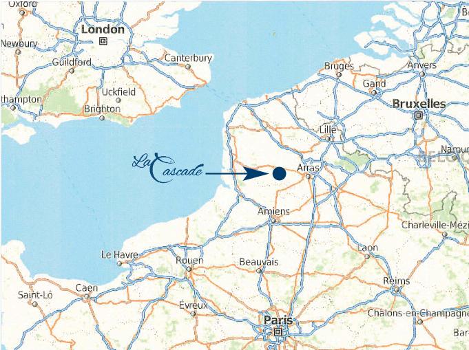 Location La Cascade- Map